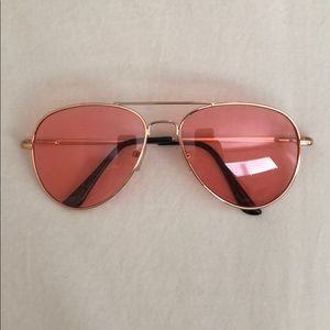 Accessories - Urban Outfitters Pink Aviators